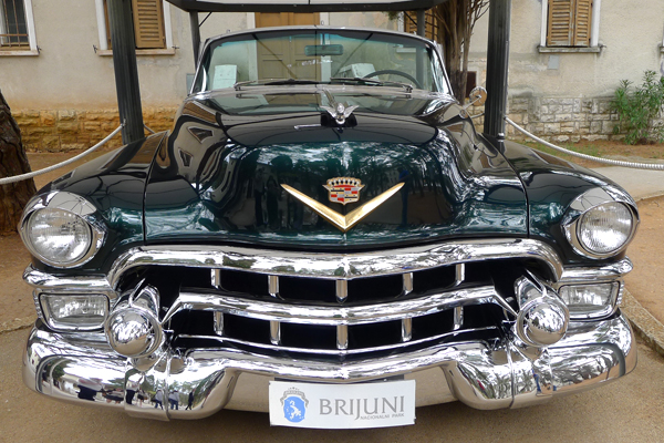 Cars of the dictators, exhibit at: Tito's Cadillac.